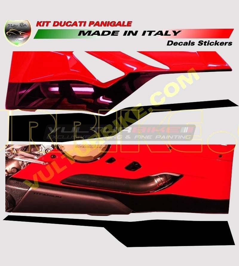 Lower fairings' stickers Look Panigale R 1299 - Ducati Panigale 899/1199