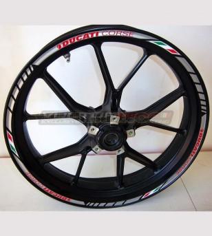 Anpassbare Klebeprofile für Ducati Felgen