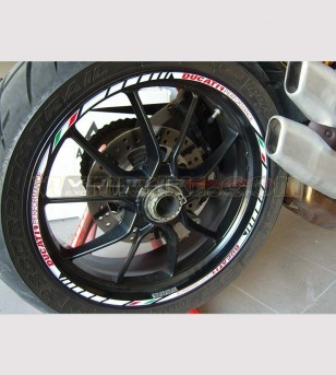 Customizable adhesive profiles for Ducati's wheels