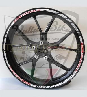 Perfiles adhesivos personalizables para llantas - Ducati Panigale