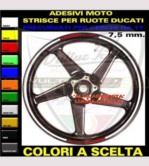 Adhesive profiles Ducati Corse for rims - Ducati
