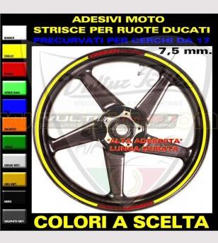 Profili adesivi Ducati Corse per cerchi - Ducati
