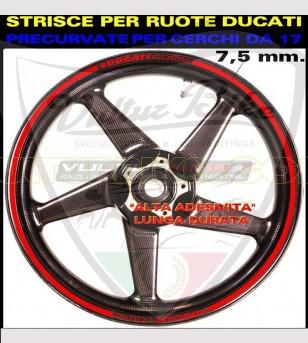 Adhesive profiles Ducati Corse for rims - Ducati