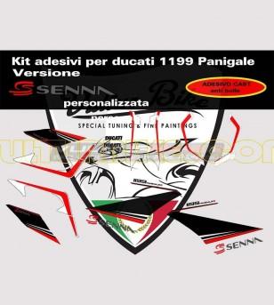 Kit adesivi versione Senna - Ducati Panigale 899/1199