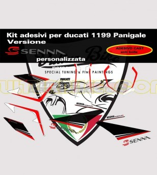 Stickers' kit Senna version - Ducati Panigale 899/1199