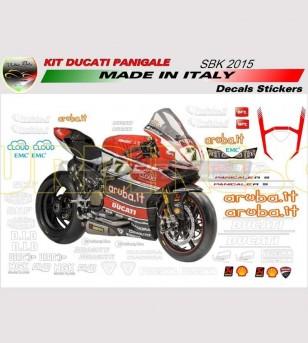 STICKER KIT SBK 2015 - Ducati Panigale 899/1199/959/1299