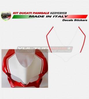 Adesivi portanumero per cupolino - Ducati Panigale 959/1299