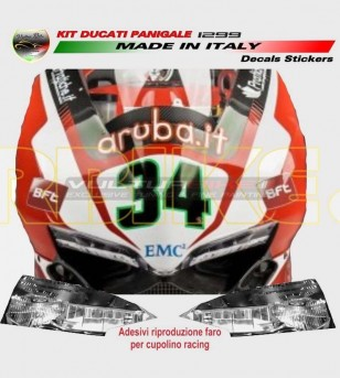 Headlight reproduction stickers - Ducati Panigale 959/1299