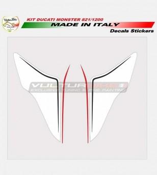 Sticker-Kit für Abdeckungen - Ducati Monster 821/1200