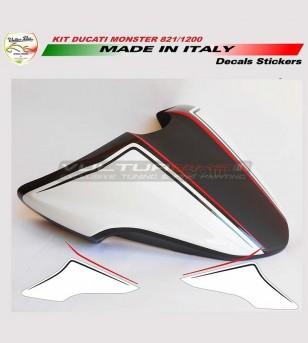 Kit de pegatinas para cubiertas - Ducati Monster 821/1200