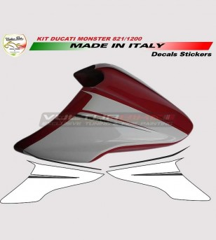 Kit adesivi per cover specials - Ducati Monster 821/1200