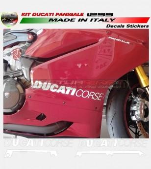 Adesivi per carene laterali Look R - Ducati Panigale 899/1199/959/1299