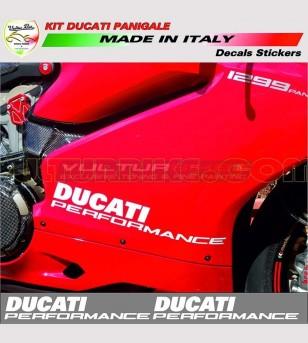Adesivi per carene laterali Performance - Ducati Panigale 899/1199/959/1299