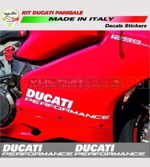 Side fairings' stickers Perfomance - Ducati Panigale 899/1199/959/1299