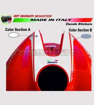 Adesivi per serbatoio - Ducati Monster 821/1200