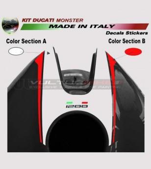 Tank's stickers - Ducati Monster 821/1200