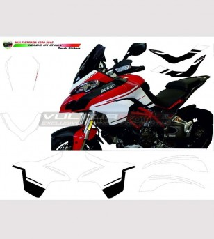 Stickers' kit replica Pikes-Peak - Ducati Multistrada 1200 2015 / 2017