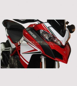 Kit adhésif design personnalisé - Ducati Multistrada 950/1200 DVT