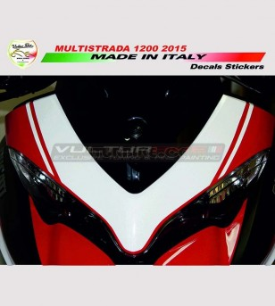 Colored front fairing's...