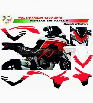 Stickers' kit pikes-peak design - Ducati Multistrada 1200 2015