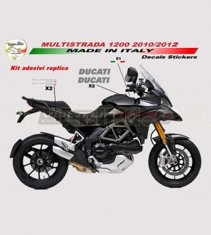 Stickers for tank and side panels - Ducati Multistrada 1200/S