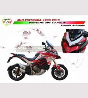 Kit adesivi Design Dolomites' Peak - Ducati Multistrada 1200 DVT
