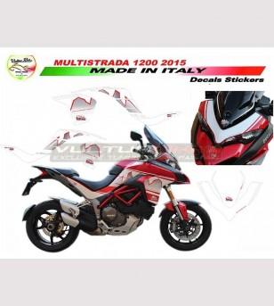 Kit adhesivo Pico de Design Dolomites - Ducati Multistrada 1200 DVT