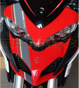 Tricolor stickers for front fairing - Ducati Multistrada 1200 2015/17