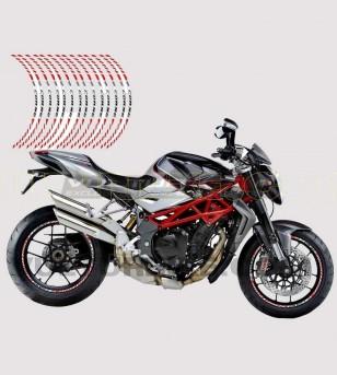 Kit de pegatinas racing wheels - MV Agusta