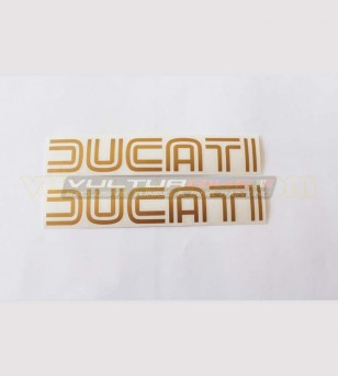 2 Ducati old style stickers...