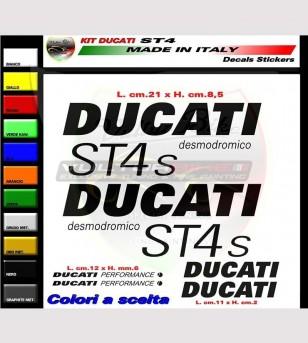 Kit de pegatinas réplica Ducati ST4s