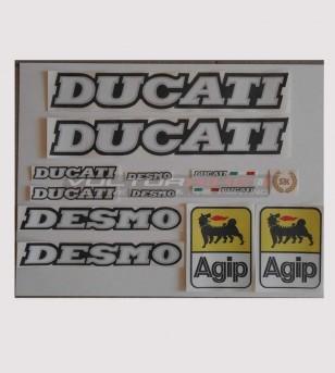 Kit de pegatinas Ducati Desmo