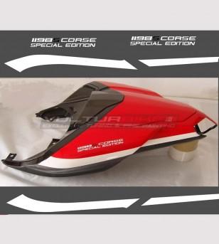 Adesivi codone replica 1198s corse - Ducati 848/1198/1098/S/R/EVO