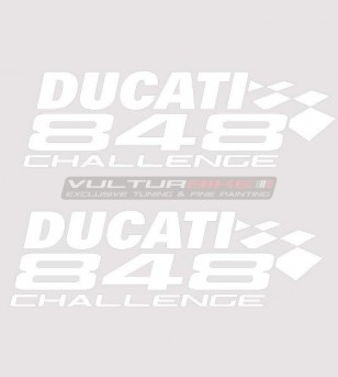 Challenge Sticker Kit - Ducati 848/1098/1198/S/R/SP/EVO