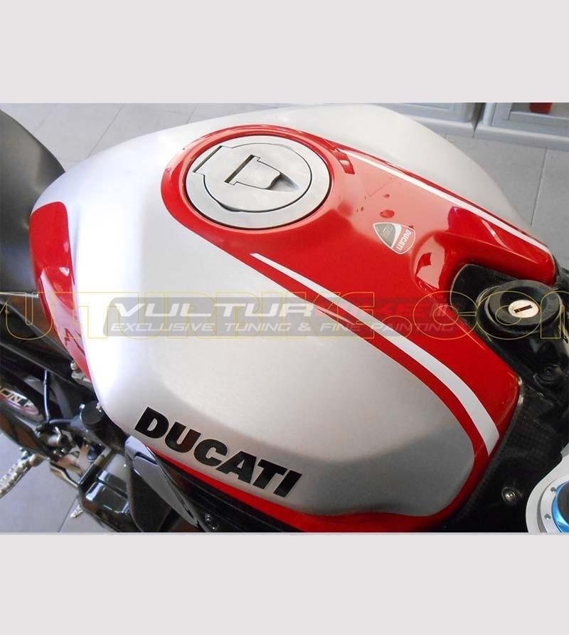 Sticker Tank Replica Versión Panigale R - Ducati 899 / 1199 / 1299 / 959 / V2 2020