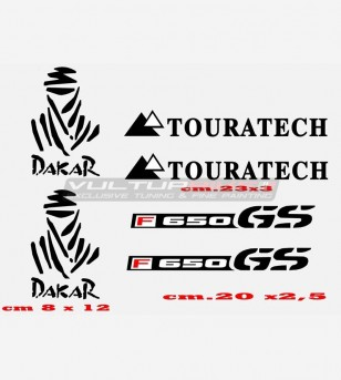 Stickers F650 GS TOURATECH...