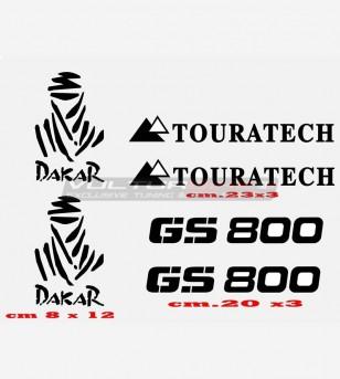 Adesivi GS 800 TOURATECH DAKAR