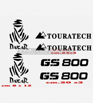 Stickers GS 800 TOURATECH...