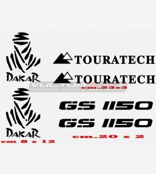 Adesivi GS 1150 TOURATECH DAKAR