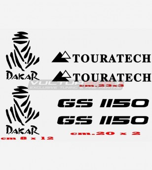 Pegatinas GS 1150 TOURATECH DAKAR
