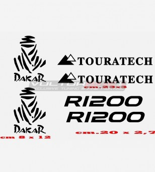 Stickers R 1200 TOURATECH...