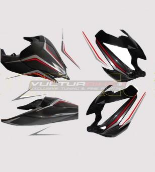 Kit autocollant carénages - Ducati Streetfighter