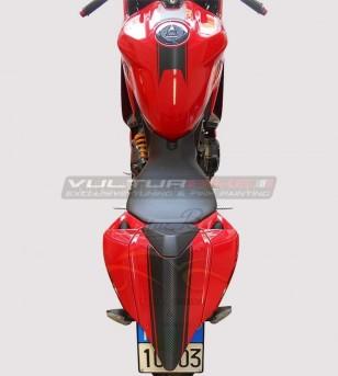 Kit de pegatinas Línea de carbono 3D - Ducati Panigale 899/1199