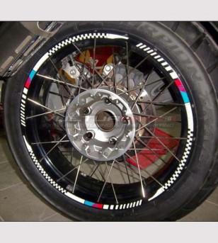 Adesivi per ruote - Bmw F800 / 1200 GS