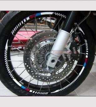 Pegatinas de ruedas - BMW F800 / 1200 GS