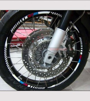 Stickers for wheels - Bmw F800 / 1200 GS