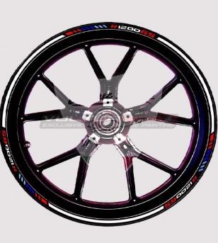 Adesivi per ruote Motorsport - Bmw R1200 GS