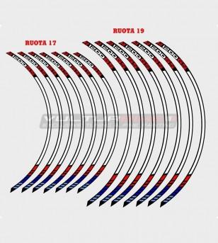Pegatinas de la rueda del automovilismo - BMW R1200 GS