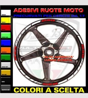 Profili adesivi personalizzabili ruote molti modelli - Ducati 848/1098/1198/S/R/SP/EVO