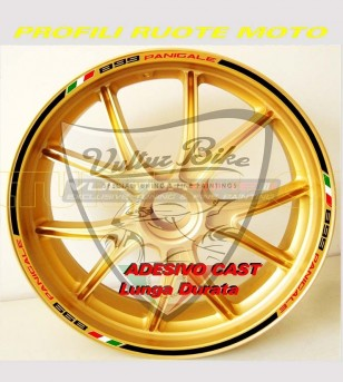 Stickers for wheels special design - Ducati Panigale 899/1199/1299/S/R